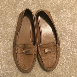 Gently worn Coach loafers